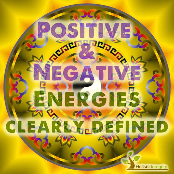 Positive and Negative Energy